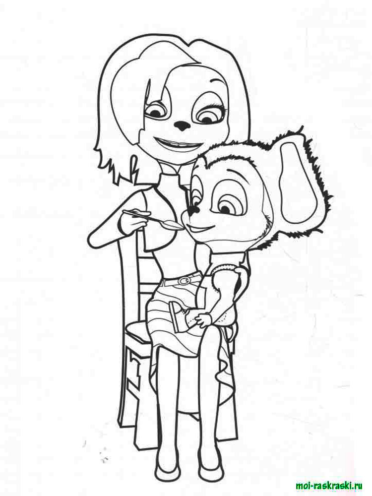 Раскраска барбоскины семья все