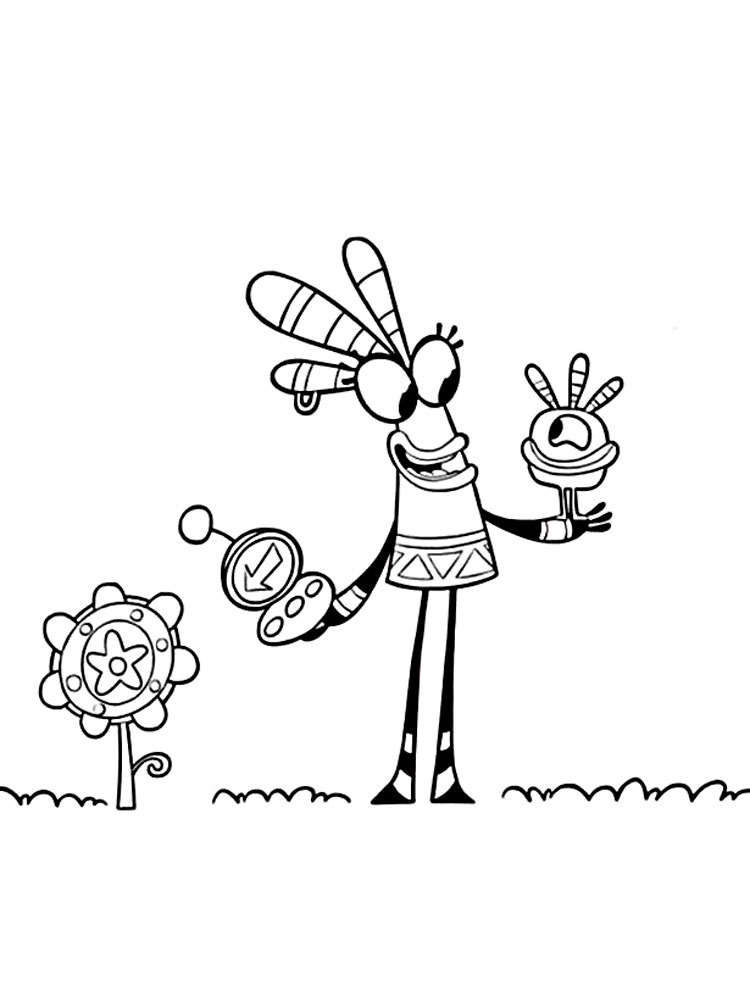 Раскраски Куми Куми - распечатать в формате А4