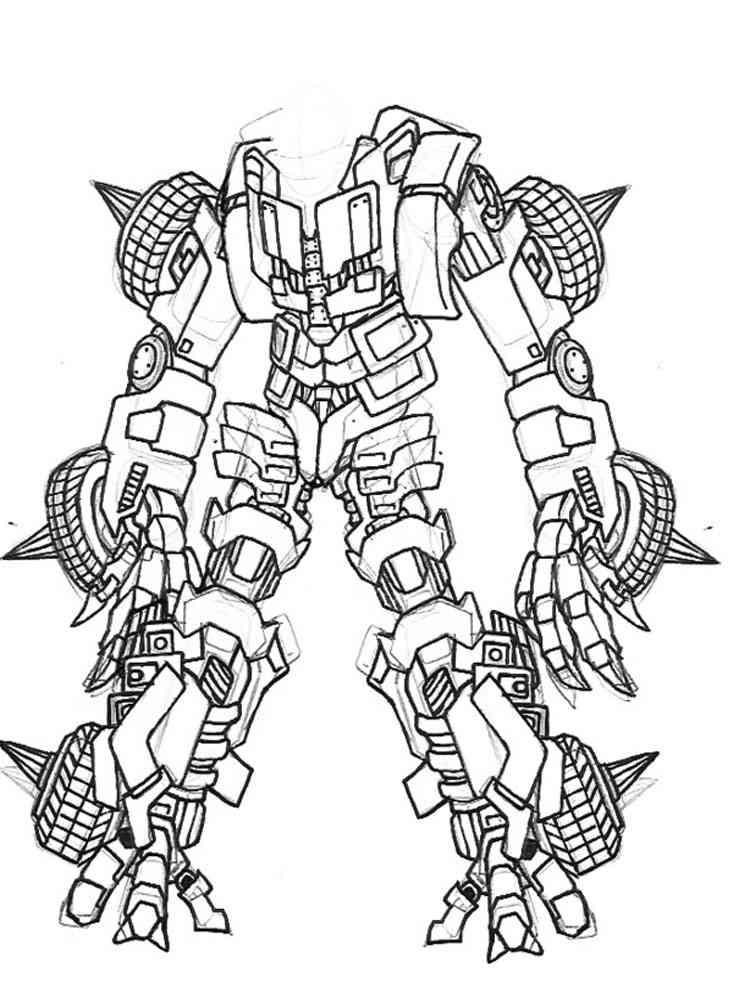 Лего роботы картинки раскраски
