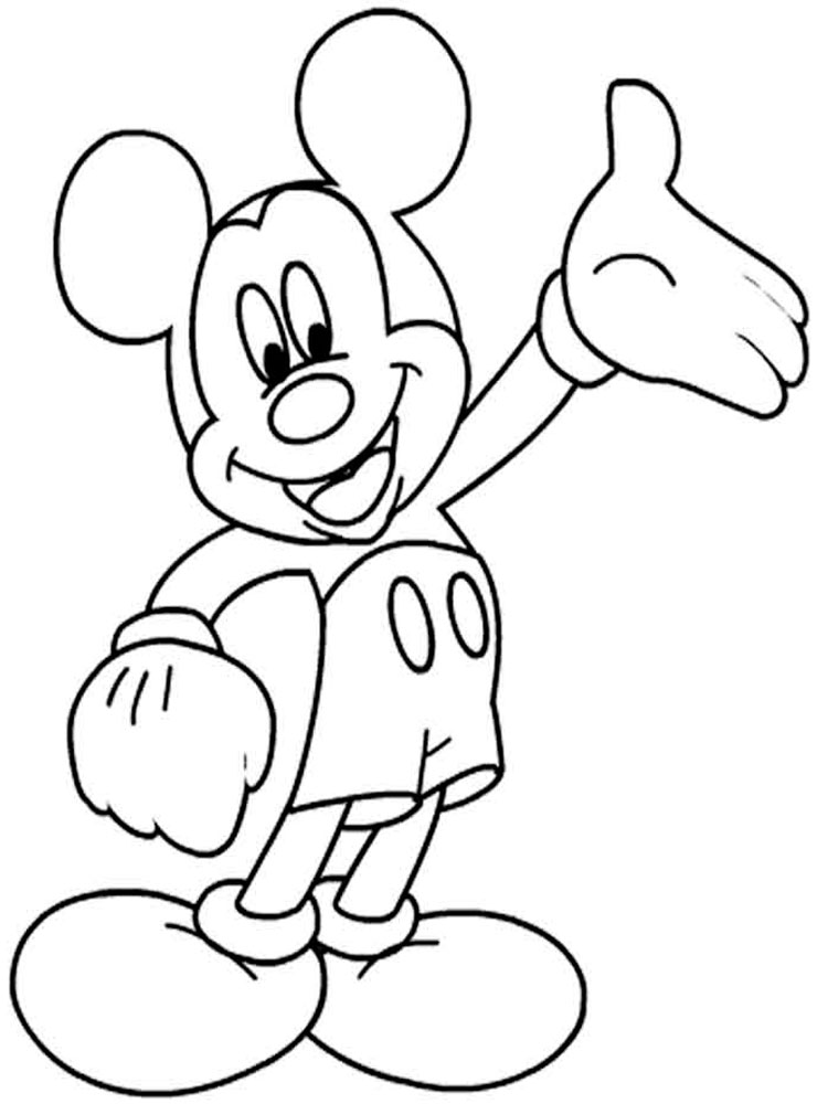Sparkle Coloring Pages Disney Junior Mickey Mouse