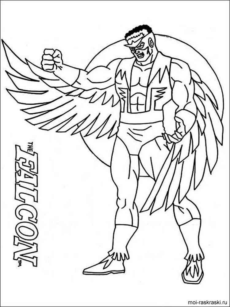 Раскраски супергерои - 10