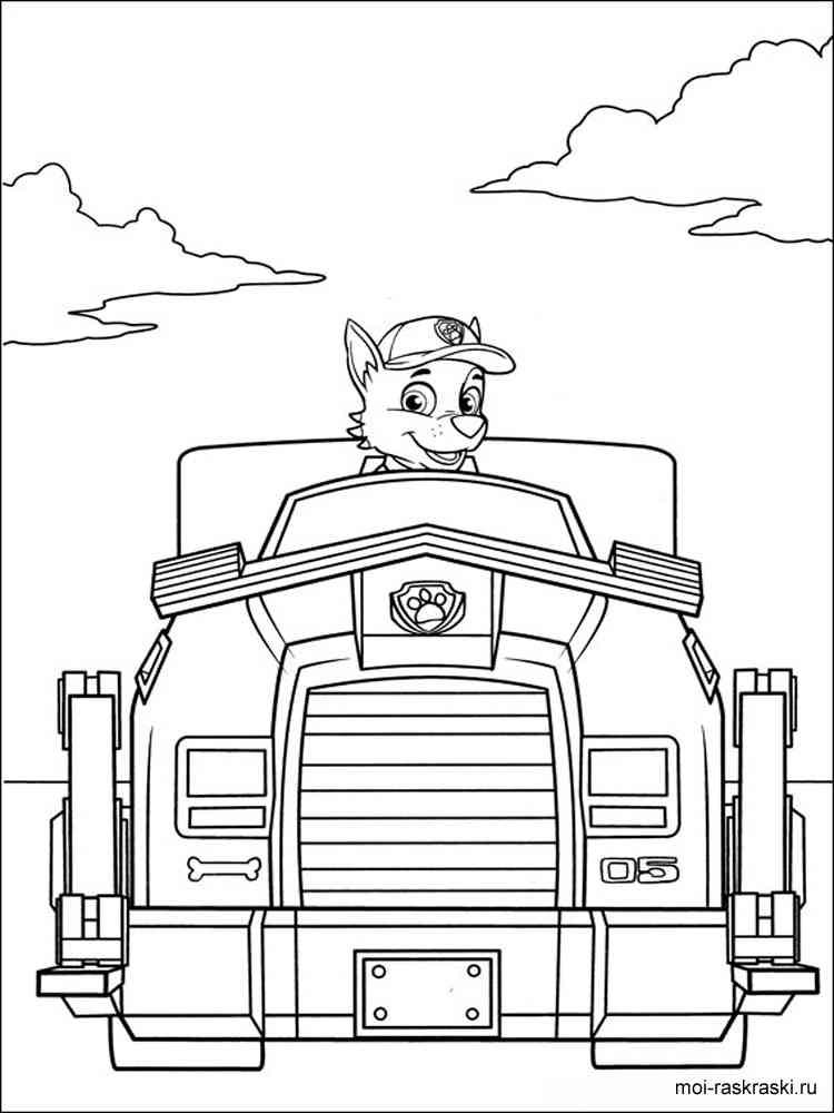 раскраски из мультфильма щенячий патруль скачать и