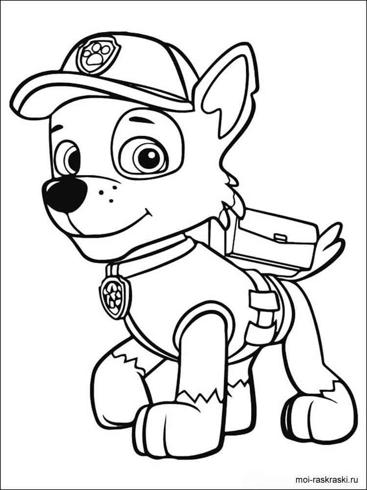 Раскраски из мультфильма Щенячий патруль. Скачать и ...