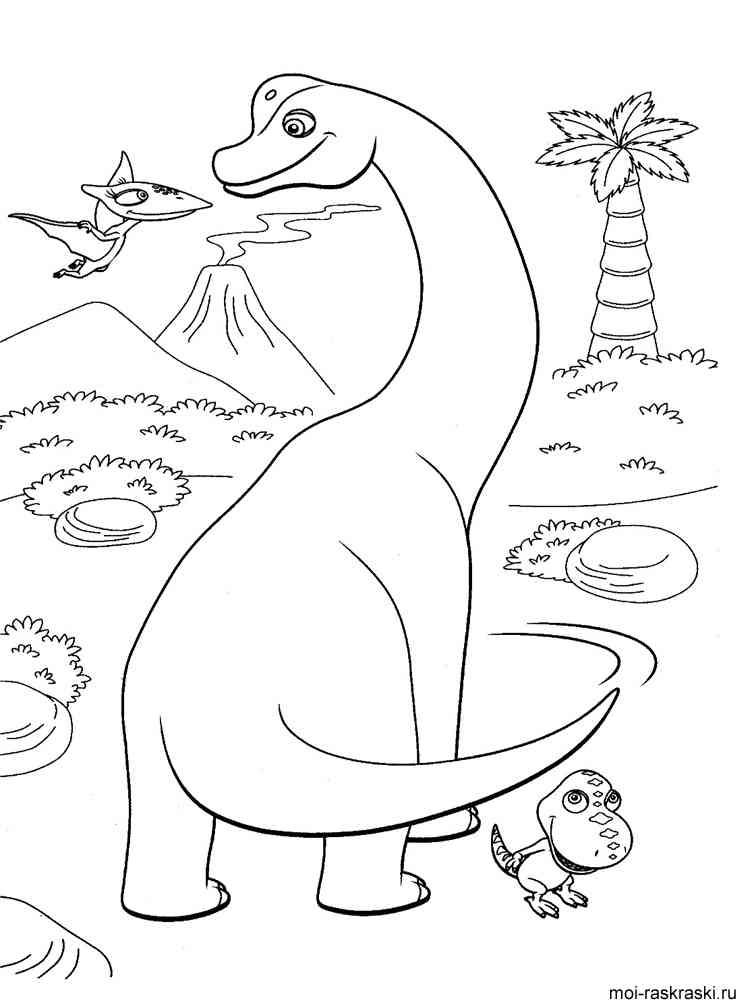 картинки с динозаврами распечатать