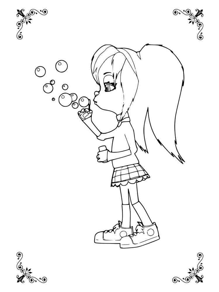 Картинка розы барбоскиной раскраска