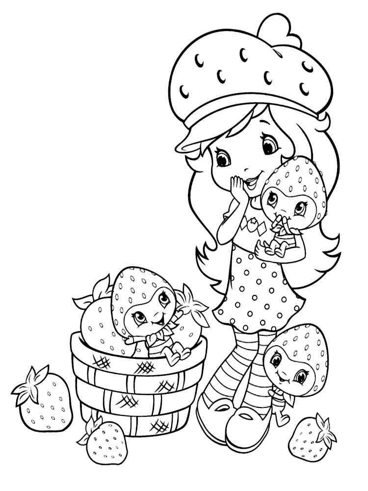 Раскраска для девочек 5 6 лет - 8