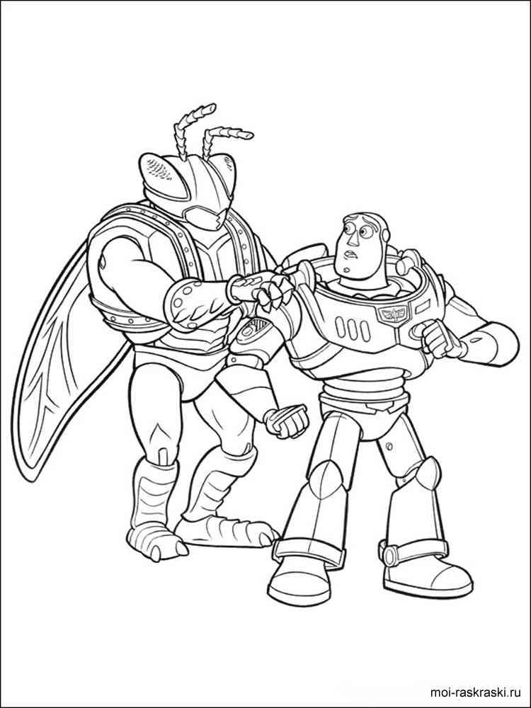 Раскраски из мультфильма История игрушек - распечатать в ...