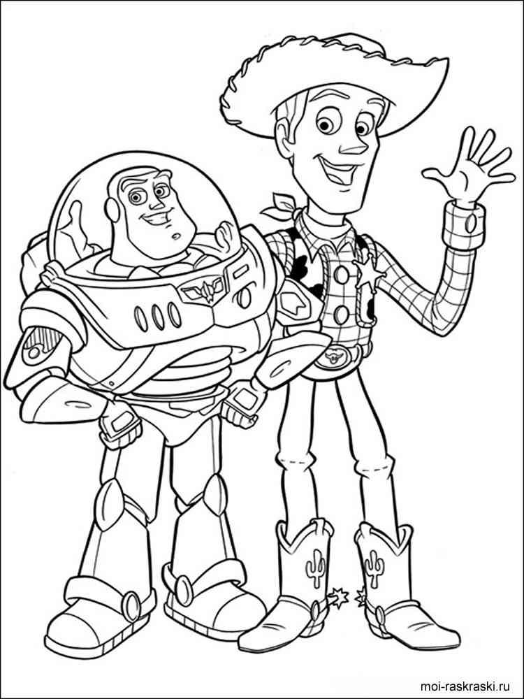 Раскраски для мальчиков из мультфильма