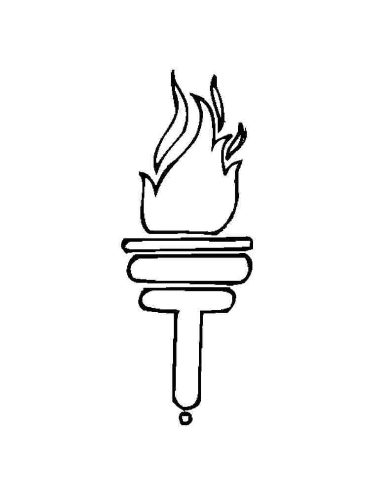 находится раскраски огня и пламени распечатать его
