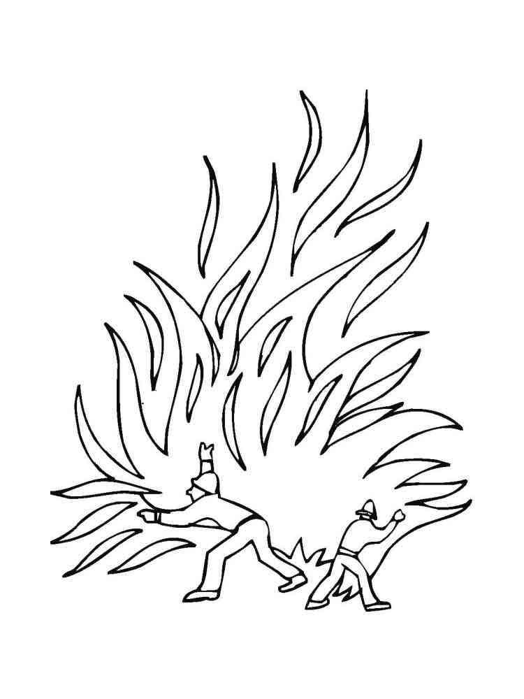 точно раскраска берегите лес от огня осмотра основных, наиболее