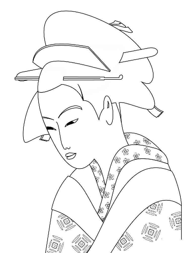 Японка как нарисовать в картинках