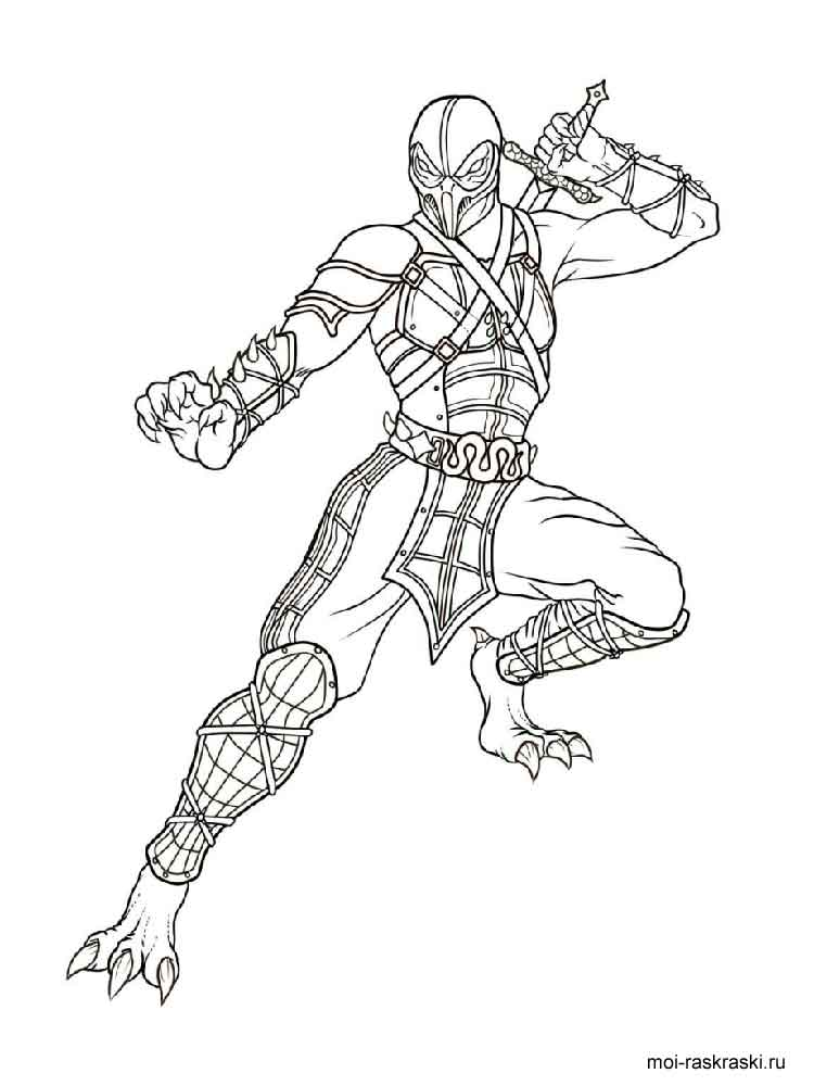 reaper from overwatch coloring pages