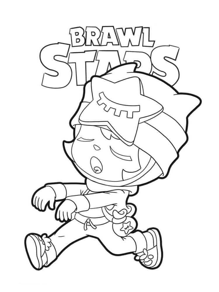 Раскраски Браво Старс (Brawl Stars) - распечатать в формате А4