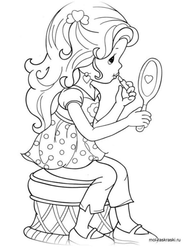 ASL Sign Language Letter P coloring page  Free Printable