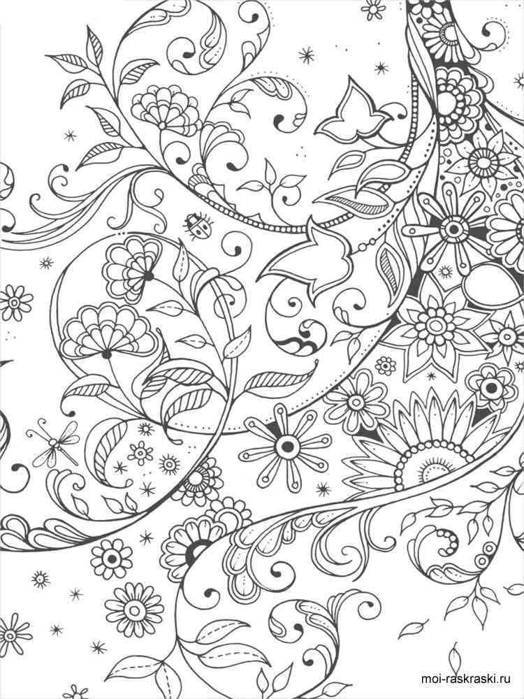 Kleurplaat Owl Раскраски для взрослых Скачать и распечатать раскраски