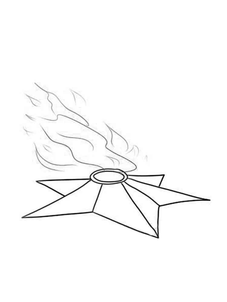 вечный огонь картинка раскраска гольцман