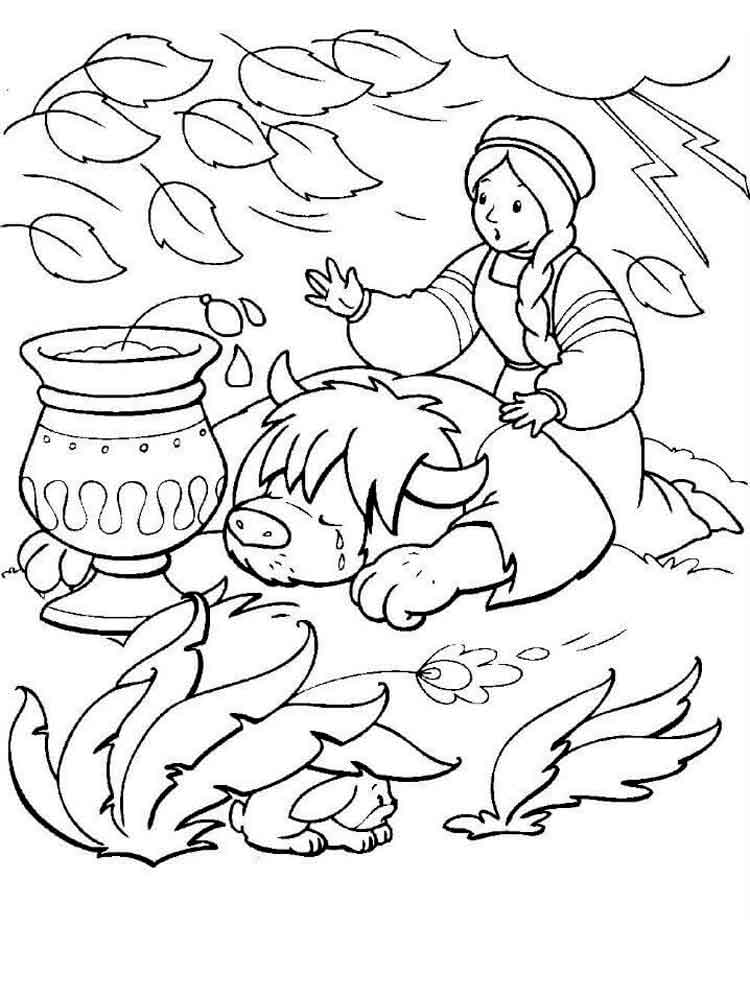 аленький цветочек картинки рисунки карандашом