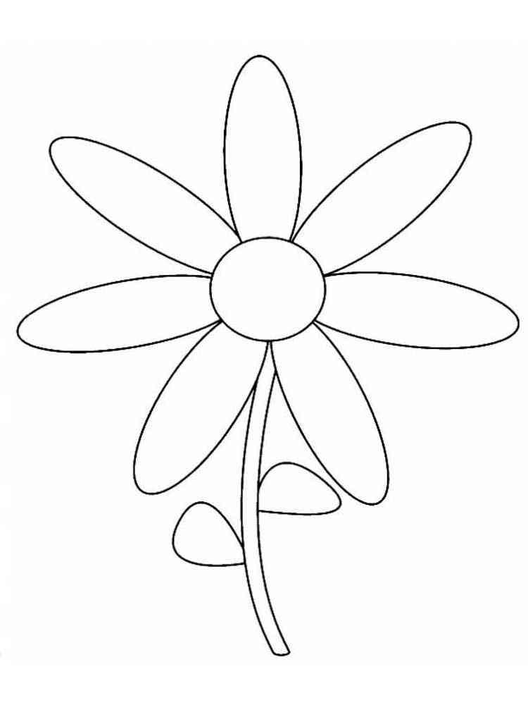 раскраска цветик семицветик картинки