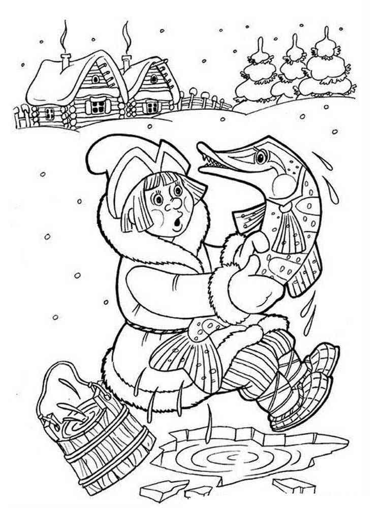 Герои новогодних сказок картинки карандашом
