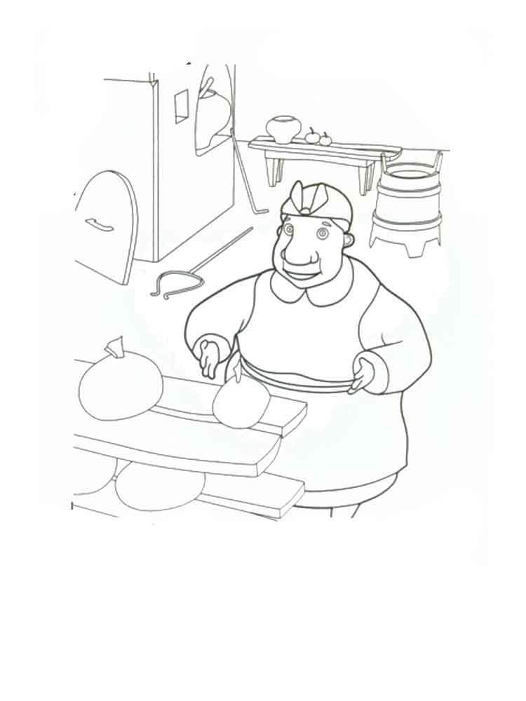каша из топора рисунки карандашом ленинград