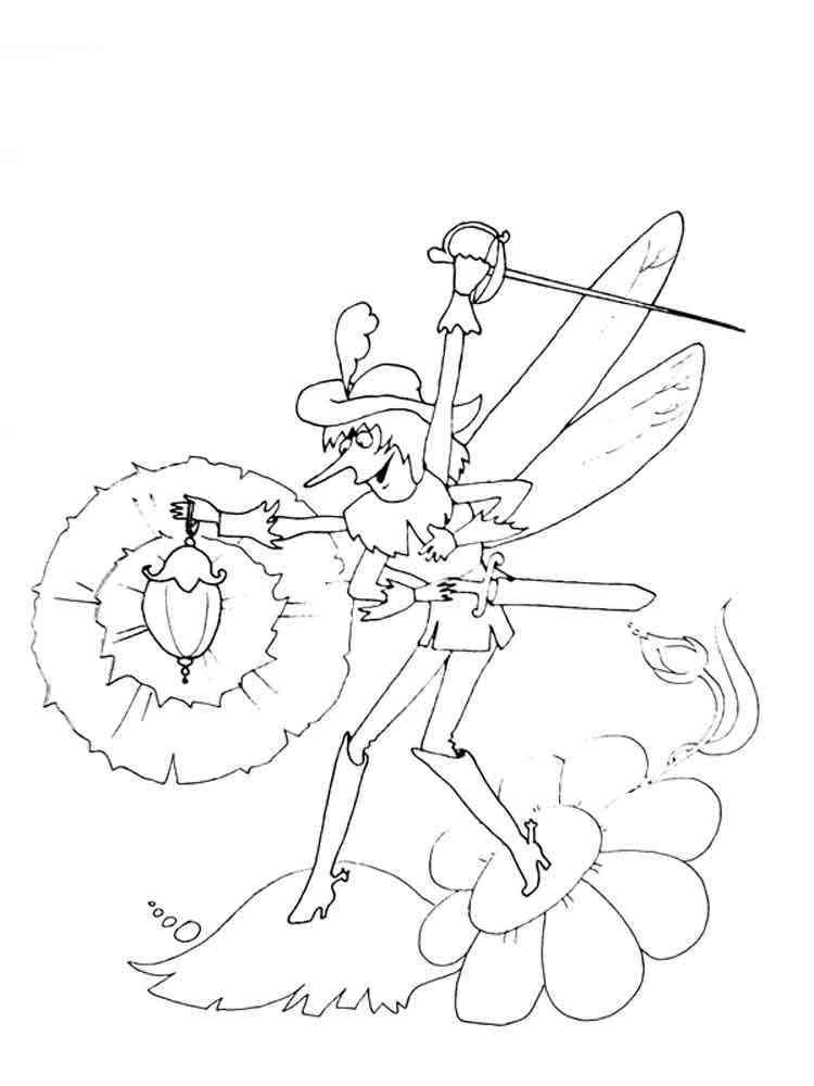 Картинки муха цокотуха раскраски
