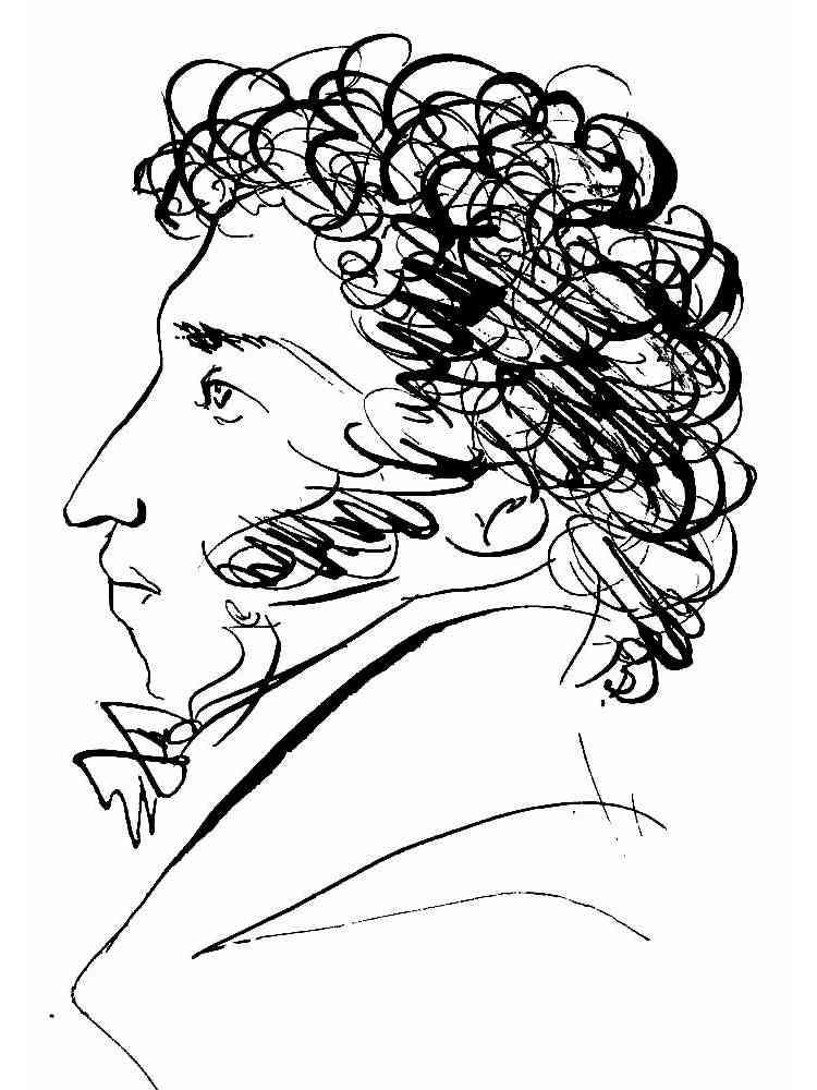 раскраски пушкин скачать и распечатать раскраски пушкин