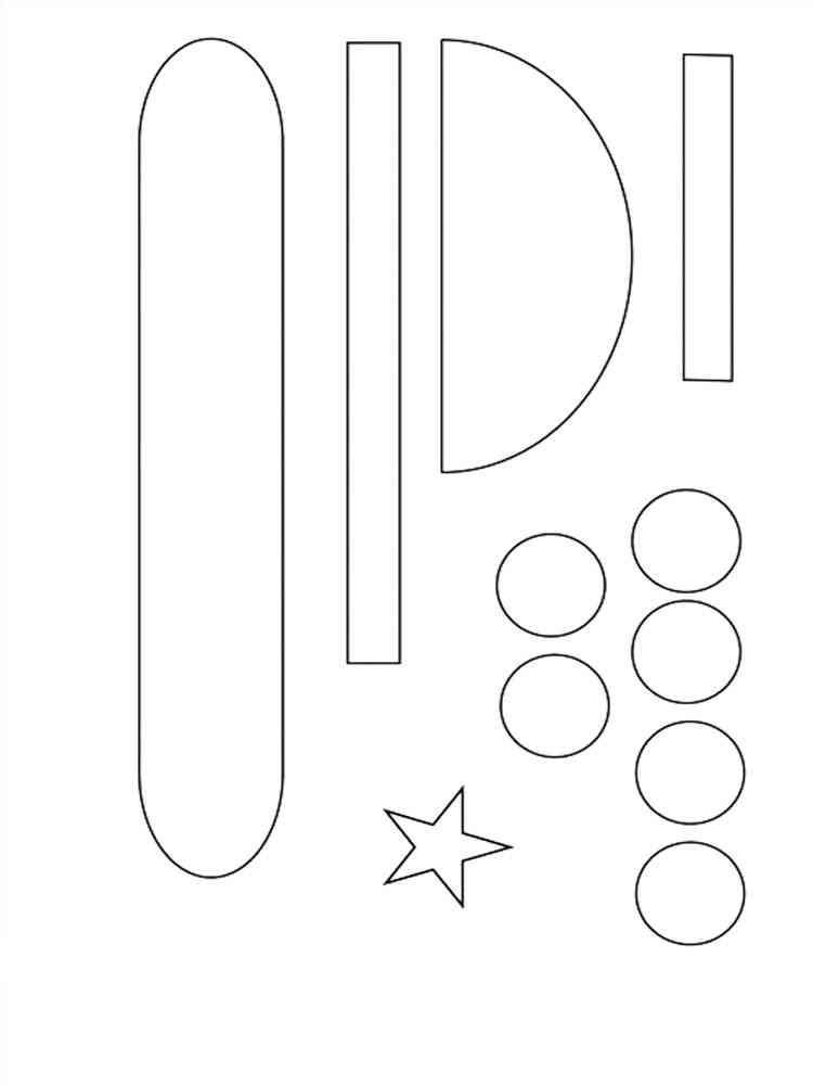 Шаблоны для открытки для 23 февраля с детьми 3-4 лет, вечера