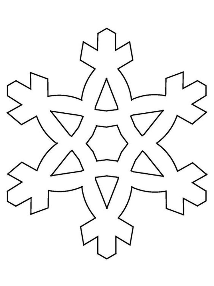 сами картинка трафарет снежинки все